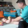 Ваня, 7 месяцев, оздоровительный массаж + ЛФК в городе Видное